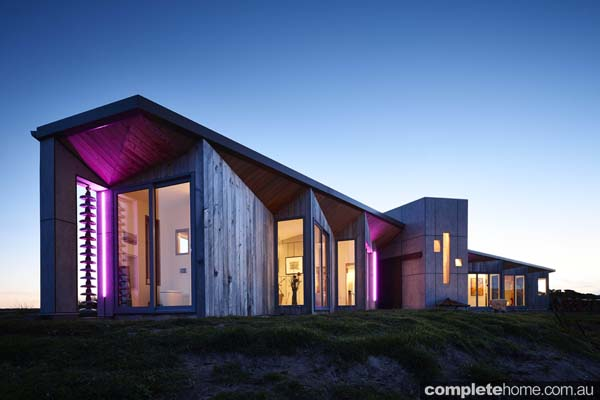 Whale_Tail_House_King_Island_by Beachouse_Architecture